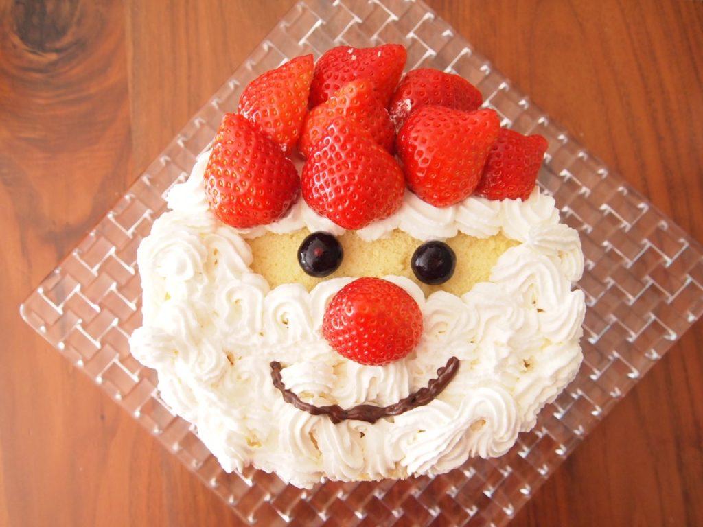 手作り クリスマスケーキ
